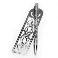 Pen & Bookmark Celtic Spear Design